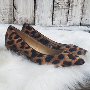 Talbots 6.5 Whitney Leopard Print Pointed Toe